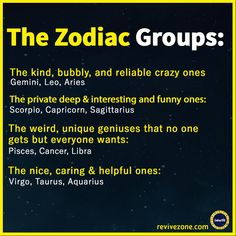 zodiac groups, zodiac signs, aries, taurus, gemini, cancer, leo, virgo, libra, scorpio, sagittarius, capricorn, aquarius, pisces