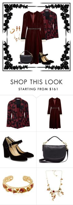 """Velvet (1046)"" by trufflelover ❤ liked on Polyvore featuring Oscar de la Renta, Philosophy di Lorenzo Serafini, Paul Andrew, Mulberry and Les Néréides"