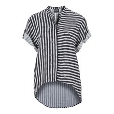 Combine your casual outfit with this striped top from #Diesel.