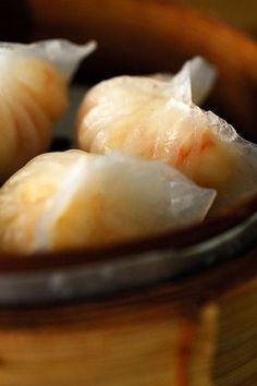 Recette Raviolis aux crevettes Dim Sum