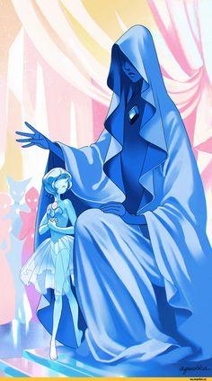Steven universe,фэндомы,SU art,Blue Pearl,SU Персонажи,Blue Diamond