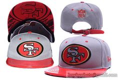 Cheap Wholesale San Francisco 49ers NFL Strapback Hats Reflective Leather Brim for slae at US$8.90 #snapbackhats #snapbacks #hiphop #popular #hiphocap #sportscaps #fashioncaps #baseballcap