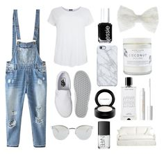 """""""☁️☁️"""" by sukhaulakh on Polyvore featuring Relaxfeel, Vans, Fendi, Essie, Accessorize, Uncommon, MAC Cosmetics, Agonist, tarte and NARS Cosmetics"""