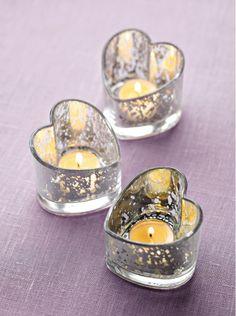 Teelichthalter Herzklopfen / Porte-bougie à réchaud Coeur à prendre