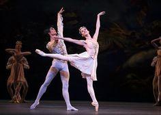 Mariinsky Ballet - Nadezhda Batoeva and Kimin Kim in Balanchine's A Midsummer Night's Dream. Photo: Emma Kauldhar