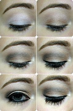 In time eye makeup