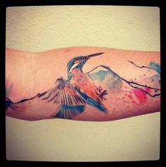 Kingfisher forearm