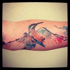 Kingfisher forearm