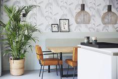 Portfolio - Studio Binnen Home Design, Interior Design, Modern Dining Table, Scandinavian, Cool Designs, Dining Room, Loft, Throw Pillows, Studio