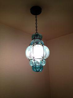 Unique antique light fixture