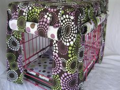 Crate Bedding Cover In Dots