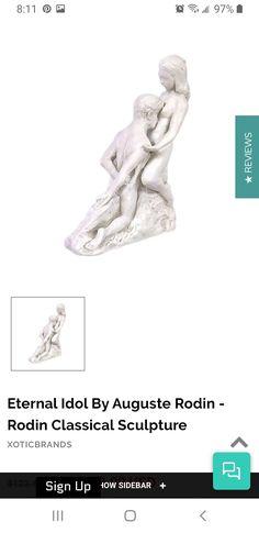 Land Of Nod, Auguste Rodin, Garden Sculpture, Outdoor Decor, Art, Art Background, Kunst, Performing Arts, Art Education Resources