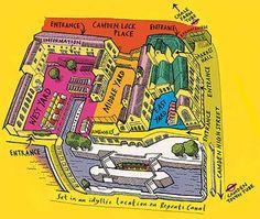 Camden Lock Market maps
