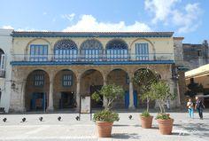 El Palacio del Conde de Jaruco en la Plaza Vieja, sede actualmente de la Galería…