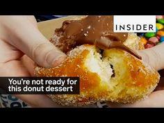 You're not ready for this donut dessert bar - YouTube