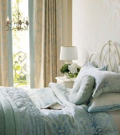 11 delightful blue and cream bedroom images house decorations rh pinterest com