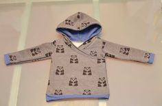 Aunt Sandi asked me if I could make a hoodie for Levi if I had extra fabric left over from Alana's hoodie which I bought Here. I had no problem with making this,but the pattern is only sized 0-3 mo...