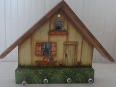 Porta chave - casinha