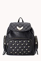Batty Babe Faux Leather Backpack for alison