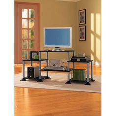 No Tools Required Entertainment Center for TVs up to 32""