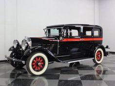 1929 Auburn 8-90 Sedan...note the matching red stripe and wheels...