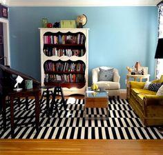 "Lisa's ""Black, White & Cool"" Room — Room for Color 2011"