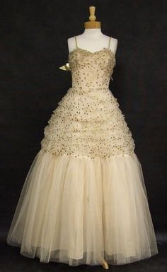 Party Dress; Emma Domb, 1950s