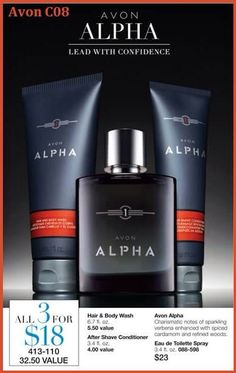 Charismatic notes of sparkling verbena enhanced with spiced cardamom and refined woods. The set includes: Eau de Toilette Spray, Hair/Body Wash, After Shave Conditioner. Aftershave, Verbena, Avon Mark, Shops, Avon Representative, Body Spray, Body Wash, Deodorant, Shaving