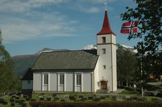 Fiksdal Church in Norway. Photo by bestnorwegian.com