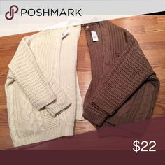 Pacsun oversized knit cardigan Pacsun oversized knit cardigan- one size PacSun Sweaters Cardigans