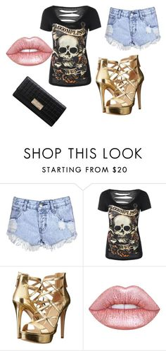 """bigger than my body colder than this home"" by ulayler-rulez on Polyvore featuring Glamorous, GUESS and Lime Crime"