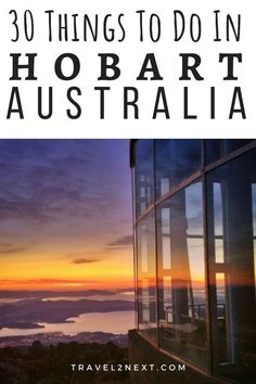 30 Things To Do In Hobart. The capital of Tasmania, Hobart is a waterfront city rich in history. #australia #tasmania #hobart #thingstodo #explore #artscentre #batterypoint #femalefactory #foodtour #distillery