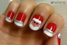 8 Unique Christmas Nail Art Designs - Beautykafe