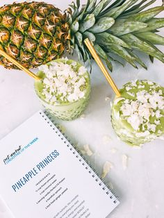 pineapple princess smoothie!