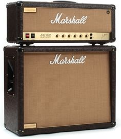 Marshall Custom Shop JCM800 and 1936V Half Stack - Western Tolex with Wheat Grille