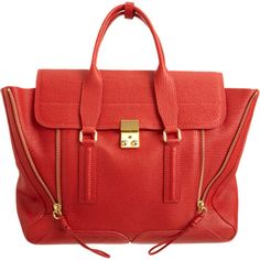 the perfect fall bag - in dreamy cherry red.