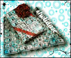 Gift Rapping Paper: Too many gifted rappers are like #GiftWrappers - they fold for paper. #STEELYourMind #holidaze #GiftWrappingPaper