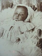 Rare African American momentous mori