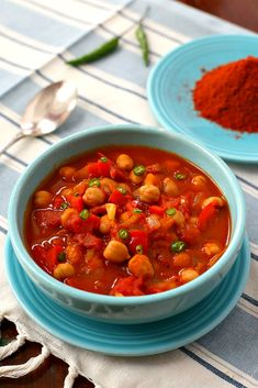 Ethiopian Spiced Chickpeas by Parsley In My Teeth 1c