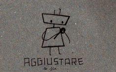 Italian Language ~   Aggiustare (to fix)