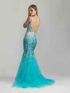 New Rückenfrei Mermaid Cocktail Abendkleid Abendkleid Hochzeitskleid Ballkleid