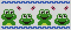 Alpha friendship bracelet pattern added by butterfly frogs spring happyness. Cross Stitch Bookmarks, Cross Stitch Borders, Cross Stitch Animals, Cross Stitch Charts, Cross Stitch Designs, Cross Stitching, Cross Stitch Embroidery, Cross Stitch Patterns, Fair Isle Knitting Patterns