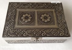 Indian/Moroccan Style Large Jewellery Box - Hand Made