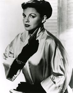 "Judy Garland. Publicity still from ""A Star is Born""."