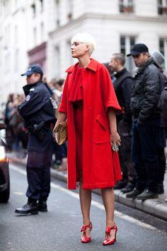 Street Fashion Paris, Spring 2012 by Mr. Newton for Harper's Bazaar