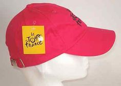 Official #merchandise pink tour de #france #baseball cap hat bnwt,  View more on the LINK: 	http://www.zeppy.io/product/gb/2/172021143052/