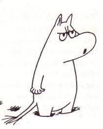 Moomin says boo!