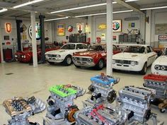 My fantasy garage and sickness all in one! At least you would have a fix whenever you wanted... :)