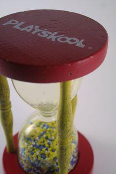 Vintage Playskool Toy Hourglass by TurtleHillShop on Etsy, $10.00