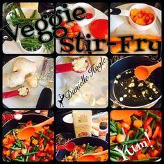 Veggie Stir Fry Great for 3 Day refresh